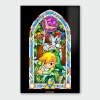 Nintendo Legend of Zelda Boomerang Chromalux High Gloss Metal Poster: Image 1