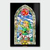 Nintendo Legend of Zelda Bow and Arrow Chromalux High Gloss Metal Poster: Image 1