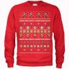 Nintendo Super Mario Happy Holidays The Good Guys Red Christmas Sweatshirt: Image 1