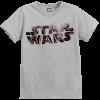 Star Wars The Last Jedi Spray Kid's Grey T-Shirt: Image 1