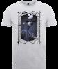The Nightmare Before Christmas Jack Skellington Zero Pose Grey T-Shirt: Image 1