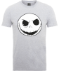 The Nightmare Before Christmas Jack Skellington Grey T-Shirt: Image 1