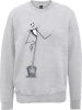 The Nightmare Before Christmas Jack Skellington Full Body Grey Sweatshirt: Image 1