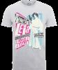 Star Wars Princess Leia Rock Poster T-Shirt - Grey: Image 1