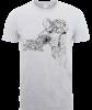 Marvel Avengers Assemble Iron Man Mono Sketch T-Shirt - Grey: Image 1