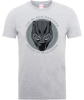 Black Panther Made in Wakanda T-Shirt - Grey: Image 1