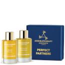 Image of Aromatherapy Associates Perfect Partners cofanetto 2 oli doccia e bagno rilassante + rivitalizzante 642498002380