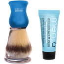 menü DB Premier Shave Brush with Chrome Stand  Blue