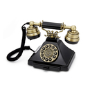 gpo-retro-duke-telephone-with-push-button-dial-black