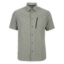 Berghaus Men's Lawrence Short Sleeve Shirt - Green/White Check - M