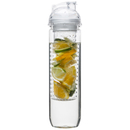 Image of Sagaform Fresh Bottle With Fruit Piston - Clear