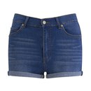 Cheap Monday Womens Short Skin HighWaist Denim Shorts  Sonic  W30