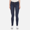Cheap Monday Womens Second Skin High Waisted Skinny Jeans  Credit Dark Blue  W28L30