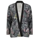ONLY Women's Eah Flower Print Kimono - Cloud Dancer - M/UK 10