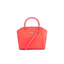 Ted Baker Women's Lailey Metal Slim Bow Leather Small Tote Bag - Orange