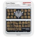 New Nintendo 3DS Cover Plate - Monster Hunter 4 Ultimate (Black)