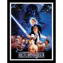 Star Wars Return of the Jedi One Sheet - Framed 30x40cm Print Multicolor