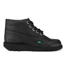 Kickers Mens Kick Hi Leather Boots  Black  UK 6.5EU 40