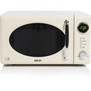 Akai A24006C Digital Microwave - Cream - 700W
