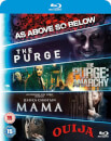 Universal Pictures Blu-ray Starter Pack - Mama, Purge 1, Purge: Anarchy, OUIJA, As Above, So Below