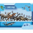 Jurassic World Size Chart - 16 x 20 Inches Mini Poster