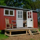 Two Night Shepherds Hut Glamping and Half Day Safari for Two