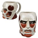 Attack On Titan Colossal Titan Face Mug