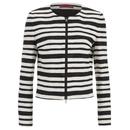 HUGO Womens Amonas Blazer Jacket  Multi  UK 8