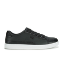 Beck & Hersey Men's Remis Perforated Trainers - Black - UK 7