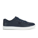 Beck & Hersey Men's Remis Perforated Trainers - Navy - UK 7