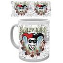 DC Comics Batman Harley Quinn Logo - Mug