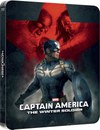 Captain America: The Winter Soldier 3D (enthält 2D Version) - Zavvi exklusives (UK Edition) Lentikular Edition Steebook