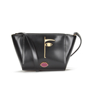 Lulu Guinness Women's Dora Face Pixie Cross Body Bag - Black