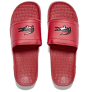 Lacoste Mens Frasier Slide Sandals  RedBlack  UK 7