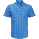 The North Face Mens Pine Knot Shirt  Bomber Blue Plaid  XL