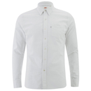 Levis Mens Sunset 1 Pocket Shirt  White  M