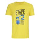 Le Coq Sportif Tour de France N6 TShirt  Yellow  L