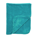 Luxurious Mink Faux Fur Throw - Teal - 125x150cm