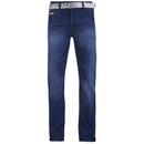 Smith & Jones Vaqueros Smith & Jones Fuse - Hombre - Lavado claro - 28R - Azul Azul 28R