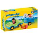 Playmobil Wagen met paardentrailer