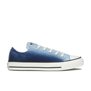 Converse Womens Chuck Taylor All Star Sunset Wash Ox Trainers  Ambient BlueEgret  UK 7