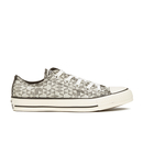 Converse Womens Chuck Taylor All Star Raffia Weave Ox Trainers  ParchmentConverse Natural  UK 5