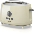 Akai A20001C 2 Slice Cool Touch Toaster  Cream