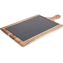 Image of Natural Life NLAS004 Acacia Paddle Board with Slate Plate