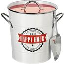 Image of Parlane 'Happy Hour' Tin Ice Bucket