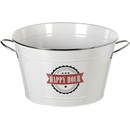 'Happy Hour' Tin Drinks Bucket Crema