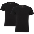 Levi's Men's 2-Pack Crew Neck T-Shirt - Black - S