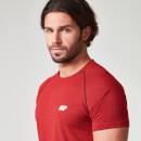 Camiseta de Rendimiento con Manga Raglán - XL - Rojo Rojo 52