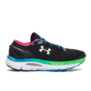 Under Armour Women's SpeedForm Gemini 2 Running Shoes - Black/Blue/Red