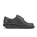 Kickers Women's Kick Lo Lace Up Shoes - Black - UK 5/EU 38
